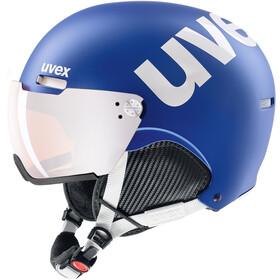 UVEX hlmt 500 Visor Hjelm, blå/hvid